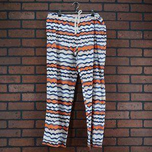 ANTHROPOLOGIE Lilka Striped Lounge Pajama Pants M